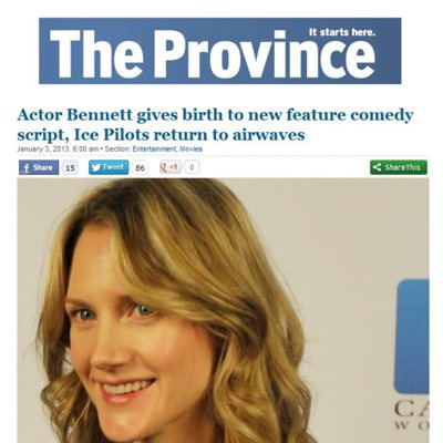 Thumbnail of Sonja Bennett, writer and actor in Vancouver, featured in Preggoland