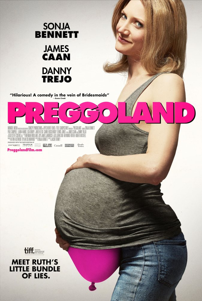 Sonja Bennett writes and stars in Preggoland